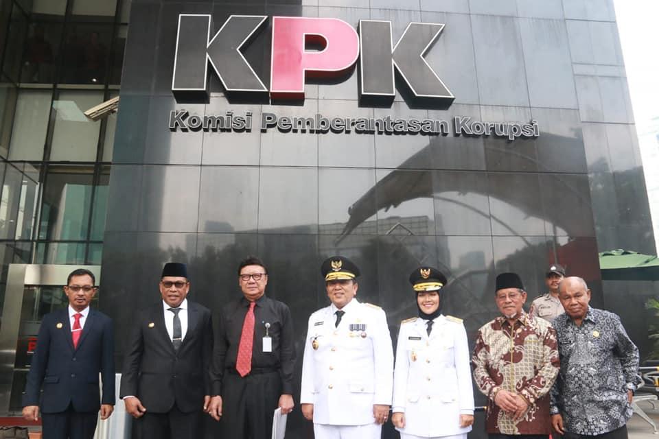 Gubernur Malut komitmen berantas korupsi