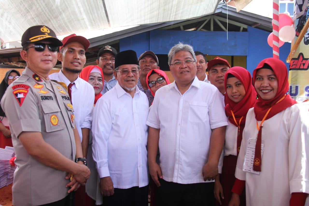 Gubernur berharap Pemilu berlangsung Aman dan terkendali