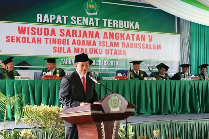 Gubernur Harapkan Keunggulan Bersaing Lulusan STAI Sula