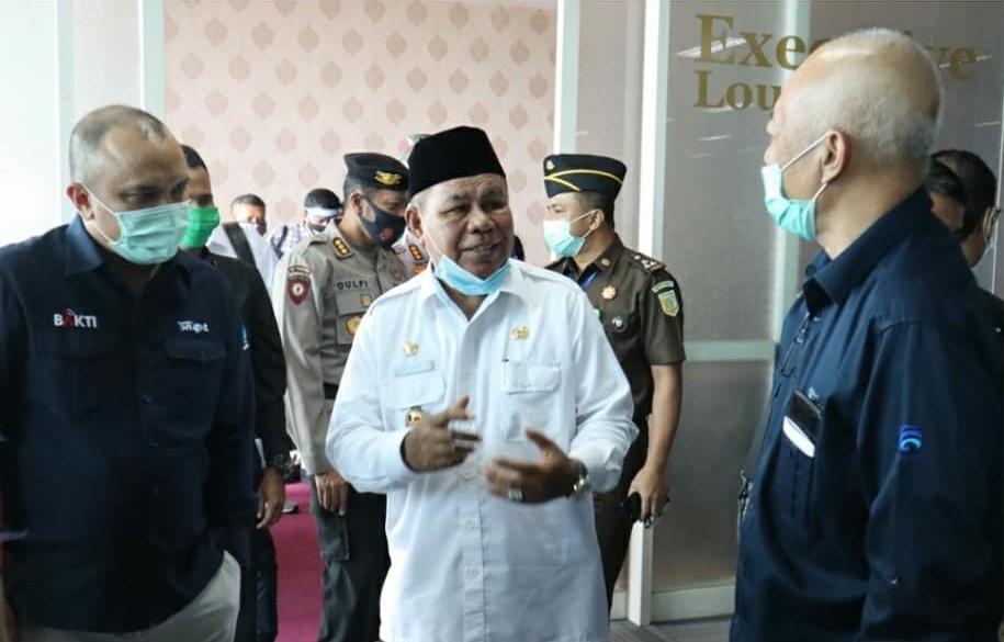Kedatangan Irjen Kemenkominfo di Malut, disambut Wagub
