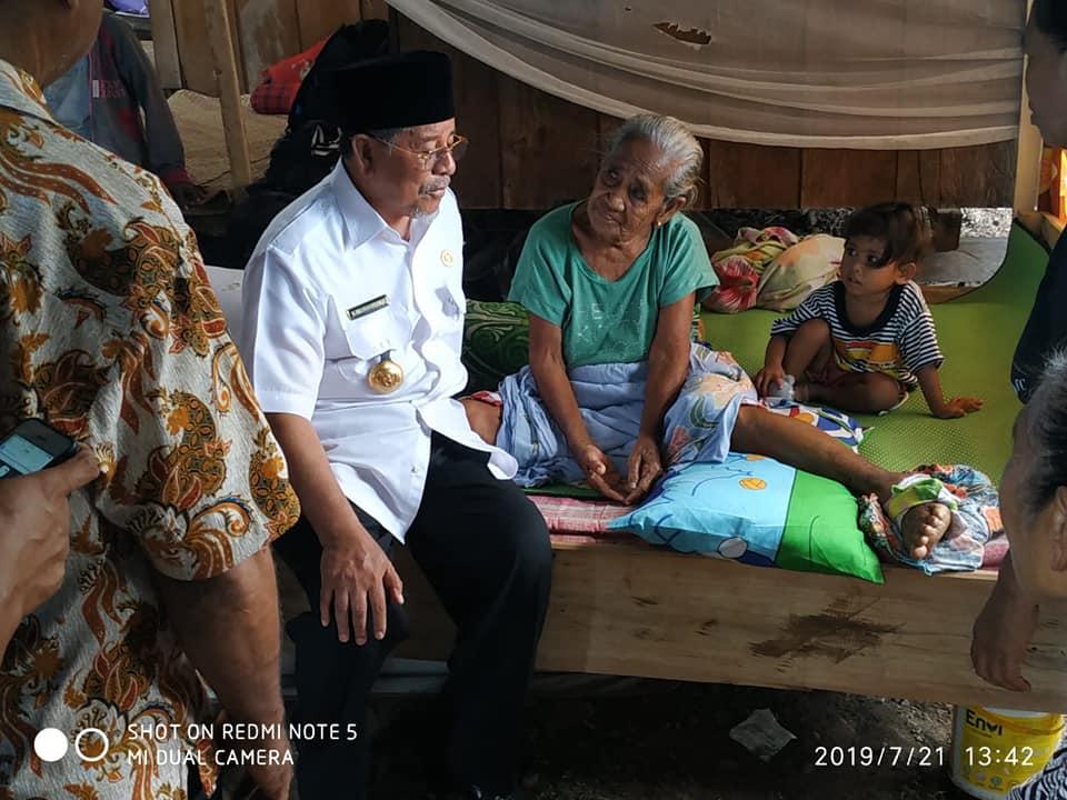 Gubernur kunjungi lokasi pengungsian Bacan dan gane barat