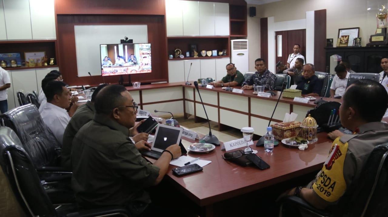 Gubernur Pastikan Pileg dan Pilpres di Malut Berjalan Aman dan Lancar