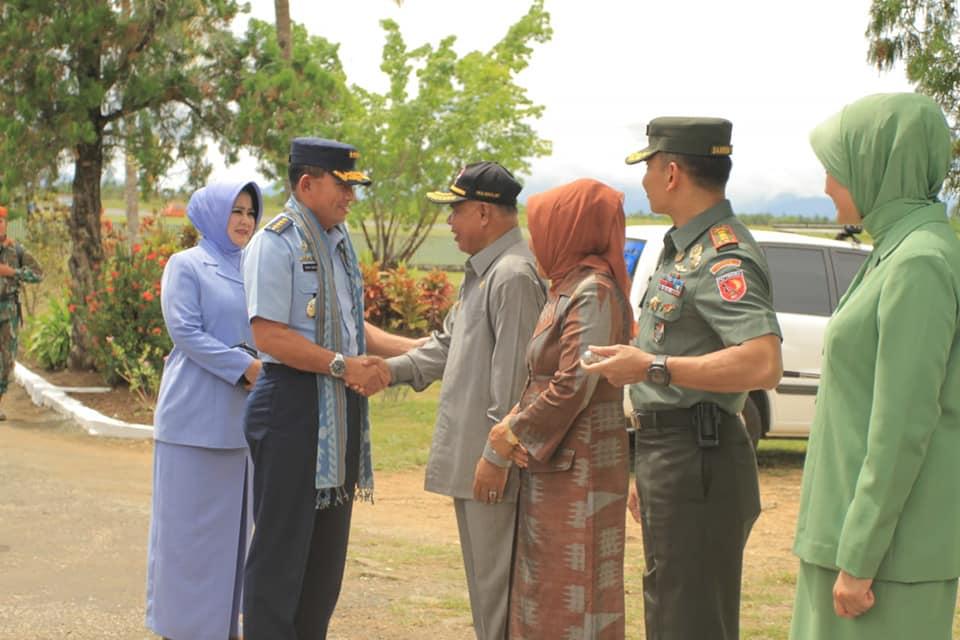 Wagub Malut Terima Kunker KASAU di Morotai